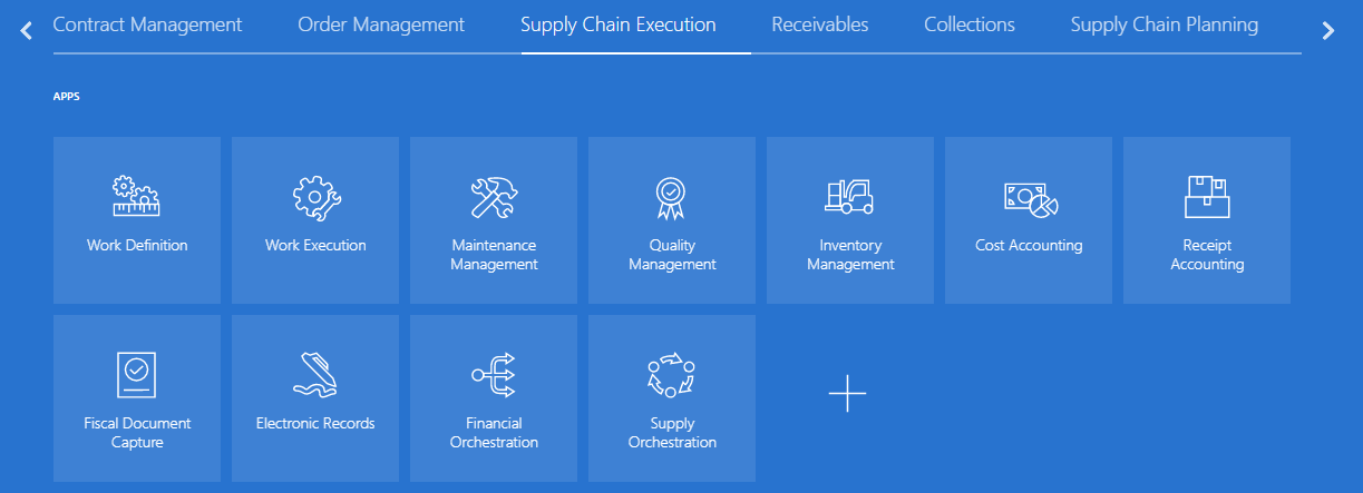 Supply Chain Execution Oracle SCM Cloud